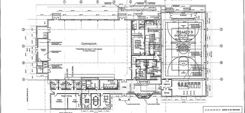 Hermann Athletic Center Plans 2012 (Demo)