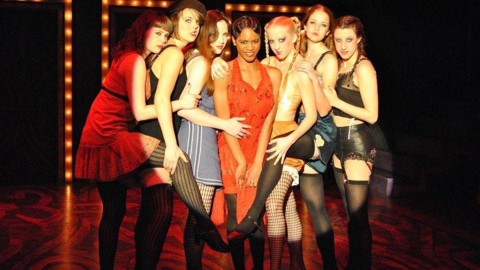 musical production Cabaret cast