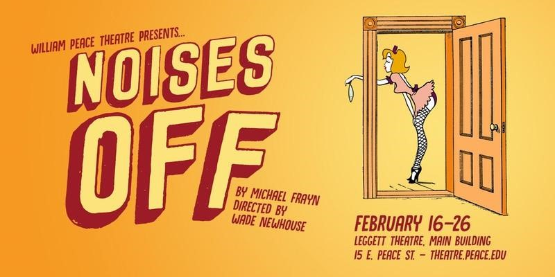 WPU Theater Noises Off poster