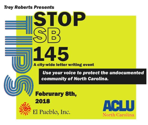 Stop Senate Bill 145 Flyer