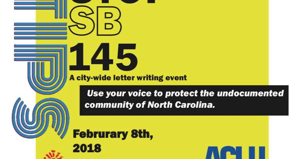 stop sb145 event information