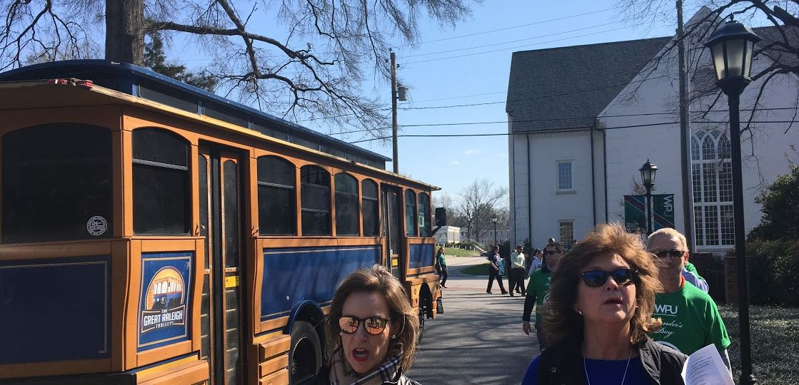 Students, faculty, staff, and alumni take part in first ever Founder's Day Walk.