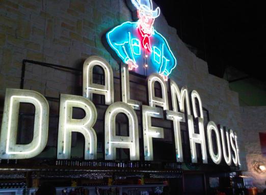 Alamo Drafthouse Sign