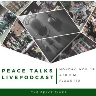 Peace Talks Flyer (Demo)