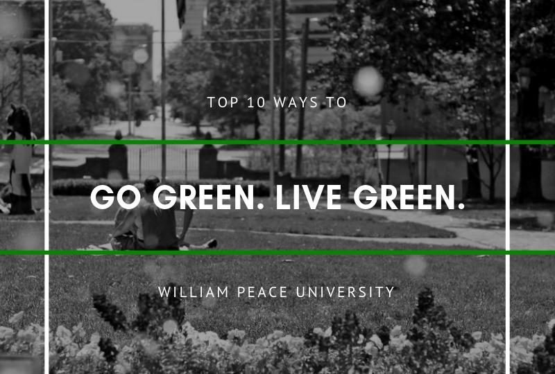 Go Green graphic