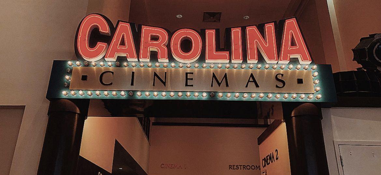Full Frame Fest movie entrance