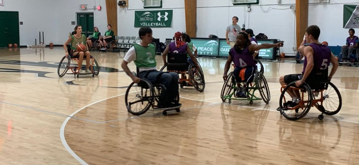 Student/Faculty Wheelchair Game, Fall 2019 (Demo)