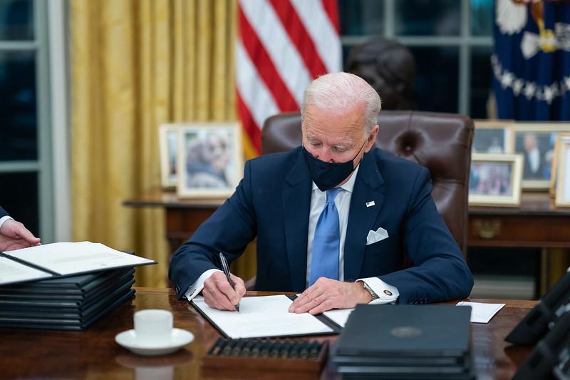 Biden Signing